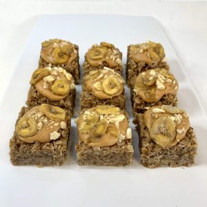 Banoffee Pie vegan flapjack