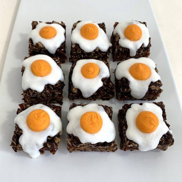 Vegan Cream Egg Flapjack