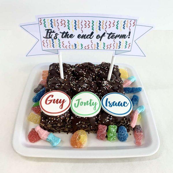 End of Term Pop Up Celebration Kit Box