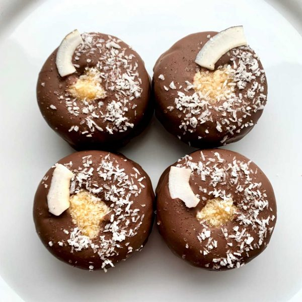 I Should Coco Gluten-free vegan baked doughnut