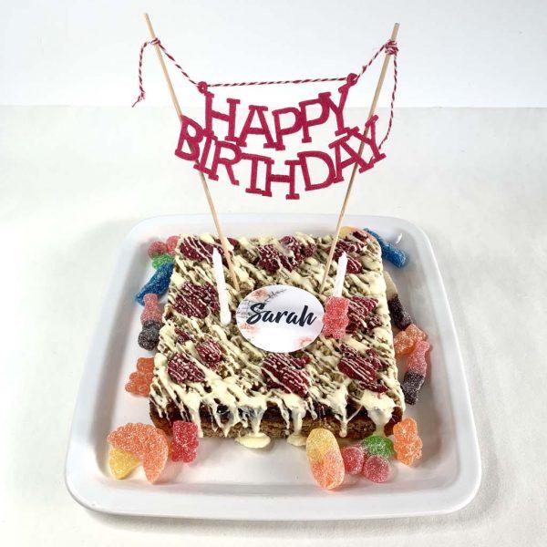 Pop-up birthday kit box