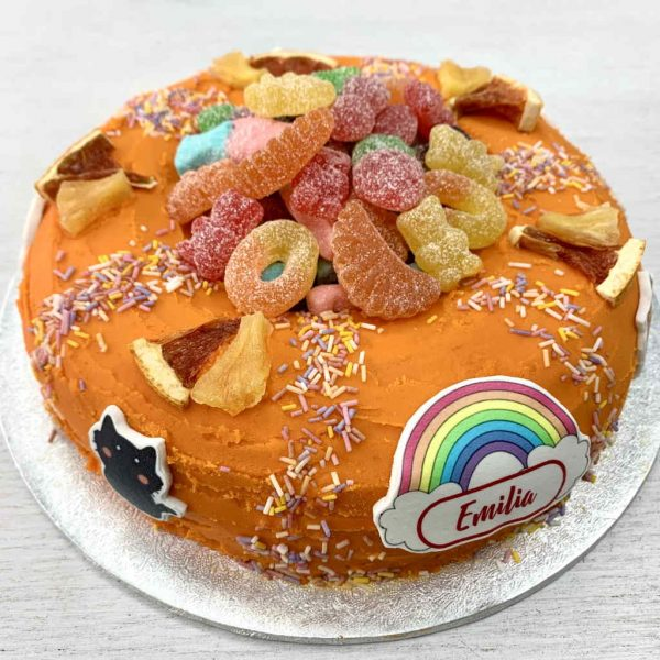 Giant Doughnut Rainbows Cats Unicorns