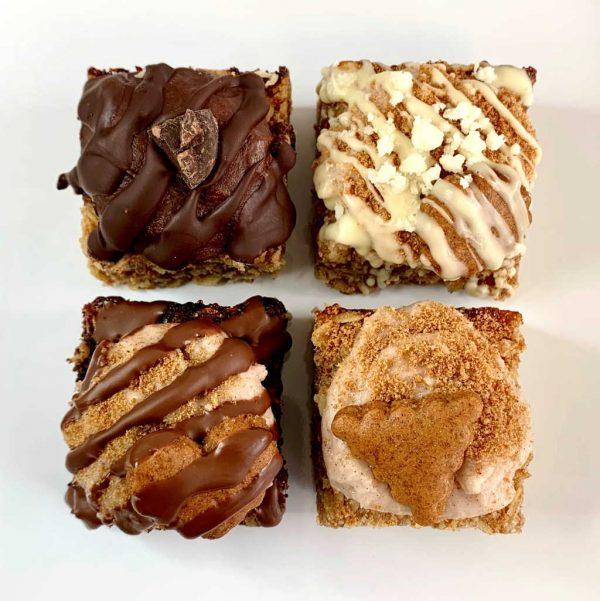 Voyage of Biscoffery vegan gluten-free flapjacks