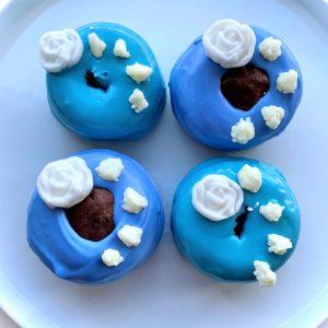 Happy Yorkshire Day Vegan Gluten-free Doughnuts