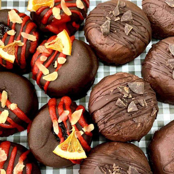Half and Half doughnut box set
