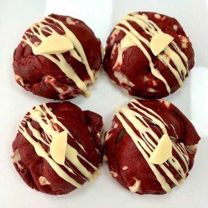 Red Velvet monster cookie