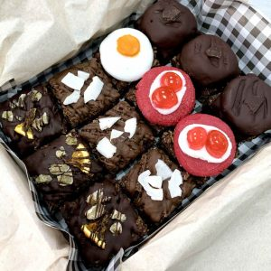 Vegan gluten-free chocotastic flapjacks chocolate treats