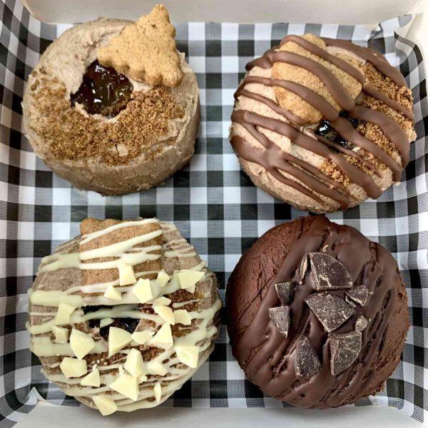 Voyage of Biscoffery doughnuts vegan gluten-free treats