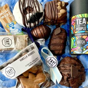 Fathers Day hamper vegan gluten-free treat box