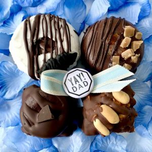 Fathers Day two and two box set vegan gluten-free treats