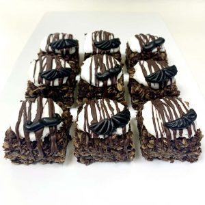 Viscount Mintgomery flapjack chocolate mint vegan gluten-free treats
