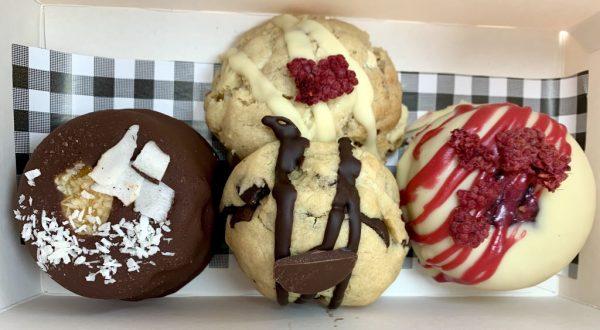 2 and 2 box doughnuts cookies vegan gluten-free treats
